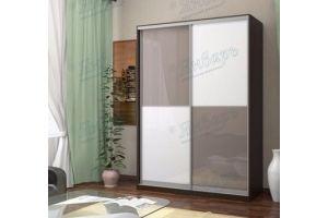 Шкаф-купе двухстворчатый Верслаь - Мебельная фабрика «Январь»