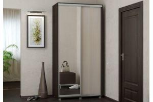 Шкаф-купе зеркальный Эконом - Мебельная фабрика «Д.А.Р. Мебель»