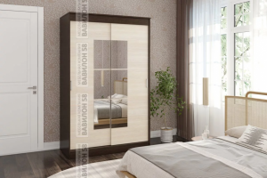Шкаф-купе Элегант-4 - Мебельная фабрика «Вавилон 58»