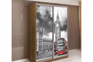 Шкаф-купе Элит с фотопечатью - Мебельная фабрика «Трио мебель»