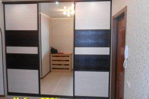 Шкаф-купе фасады кожзам - Мебельная фабрика «Мебель СТО%»