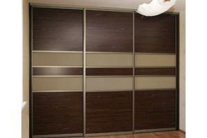 Шкаф-купе, фасады ЛДСП + стекло - Мебельная фабрика «Ваша мебель»