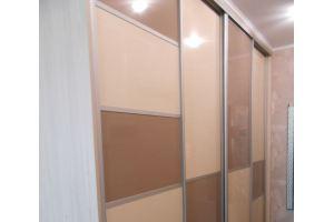 Шкаф-купе глянец МДФ - Мебельная фабрика «Мебель СТО%»