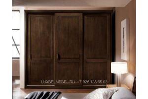 Шкаф-купе из массива 1562 - Мебельная фабрика «ЛюксБелМебель»