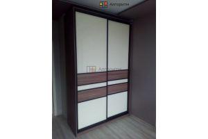 Шкаф- купе комбинированный - Мебельная фабрика «Алгоритм»