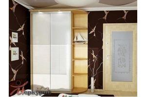 Шкаф-купе крашенное стекло 3 - Мебельная фабрика «Меркурий»