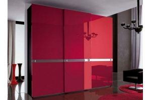 Шкаф-купе красный Дебора - Мебельная фабрика «LEVANTEMEBEL»