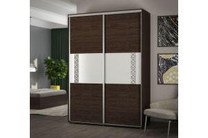 Шкаф-купе в спальню Куба - Мебельная фабрика «АСМ-модуль»
