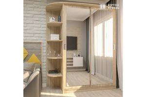 Шкаф-купе Лагуна ШК 05-02 - Мебельная фабрика «Кортекс-мебель»