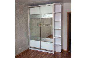 Шкаф- купе лакобель и 3Д зеркало - Мебельная фабрика «Алгоритм»