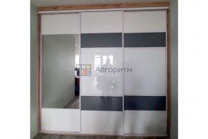 Шкаф-купе ЛДСП с зеркалом - Мебельная фабрика «Алгоритм»
