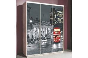 Шкаф-купе Леон 2 Лондон - Мебельная фабрика «Мебельград»