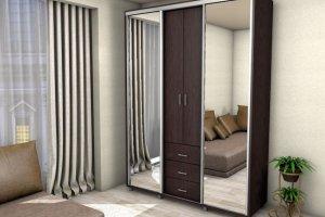 Шкаф-купе Мадрид - Мебельная фабрика «Средневолжская мебельная фабрика»