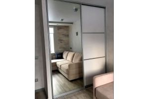 Шкаф-купе МДФ с зеркалом - Мебельная фабрика «Grol»