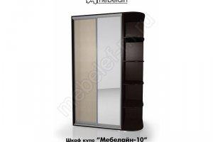 Шкаф-купе Мебелайн 10z - Мебельная фабрика «МебелеФ»