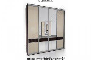 Шкаф-купе Мебелайн 3z - Мебельная фабрика «МебелеФ»