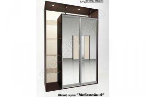 Шкаф-купе Мебелайн 4z - Мебельная фабрика «МебелеФ»