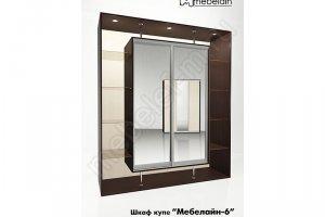 Шкаф-купе Мебелайн 6z - Мебельная фабрика «МебелеФ»