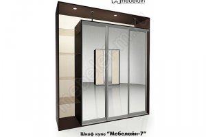 Шкаф-купе Мебелайн 7z - Мебельная фабрика «МебелеФ»