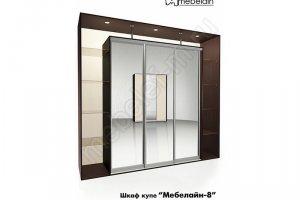 Шкаф-купе Мебелайн 8z - Мебельная фабрика «МебелеФ»