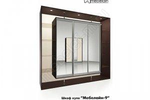 Шкаф-купе Мебелайн 9z - Мебельная фабрика «МебелеФ»