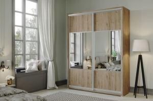 Шкаф-купе Нео 2-х створчатый комбинированный - Мебельная фабрика «САНТАН»