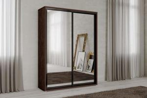 Шкаф-купе Нео 2-х створчатый зеркальный - Мебельная фабрика «САНТАН»