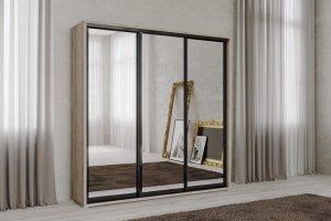 Шкаф-купе Нео 3-х створчатый зеркальный - Мебельная фабрика «САНТАН»