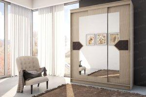 Шкаф купе Николь 3 шимо светлый - Мебельная фабрика «Эра»
