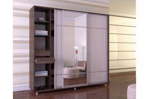 Шкаф-купе Оникс 2.4 - Мебельная фабрика «Мебельраш»