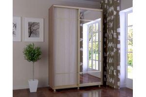 Шкаф-купе Оникс-люкс 1.5 - Мебельная фабрика «Мебельраш»