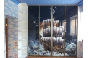 Шкаф-купе Пегас в детскую - Мебельная фабрика «Красивый Дом»
