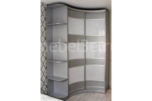 Шкаф-купе радиусный вогнутый - Мебельная фабрика «ТРИ-е»