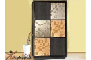 Шкаф-купе с декоративным стеклом 9 - Мебельная фабрика «Меркурий»