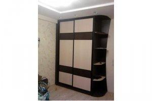Шкаф-купе с фасадом ЛДСП  - Мебельная фабрика «Ваша мебель»