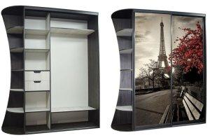 Шкаф-купе с фотопечатью - Мебельная фабрика «KODMI-мебель»