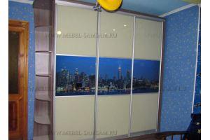 Шкаф-купе с фотопечатью - Мебельная фабрика «SamSam-мебель»