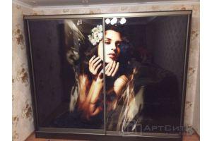 Шкаф-купе с фотопечатью - Мебельная фабрика «МК АртСити»