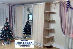 Шкаф-купе с консолью и зеркалом - Мебельная фабрика «Наша Мебель»
