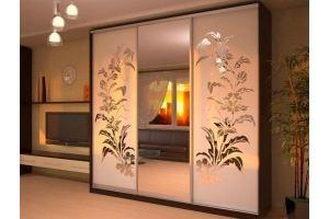 Шкаф-купе с рисунком 1 - Мебельная фабрика «Вертикаль»