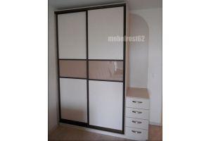 Шкаф-купе с угловым элементом - Мебельная фабрика «Мебель РОСТ»