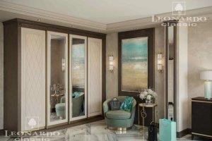 Шкаф-купе с зеркалами - Мебельная фабрика «Леонардо»