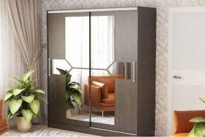 Шкаф-купе с зеркалами 205 - Мебельная фабрика «РиИКМ»