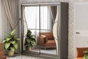 Шкаф-купе с зеркалами 206 - Мебельная фабрика «РиИКМ»