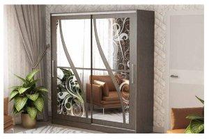 Шкаф-купе с зеркалами 207 - Мебельная фабрика «РиИКМ»