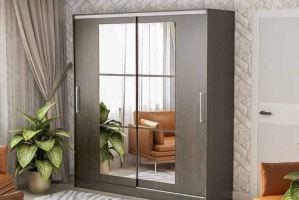 Шкаф-купе с зеркалами 208 - Мебельная фабрика «РиИКМ»