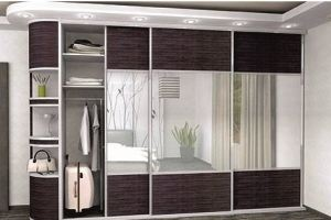 Шкаф-купе с зеркалами Егор - Мебельная фабрика «Мир Нестандарта»