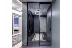 Шкаф-купе с зеркальными дверями - Мебельная фабрика «Люкс-С»