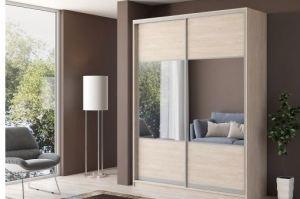Шкаф-купе с зеркальными вставками - Мебельная фабрика «Классика Мебели»
