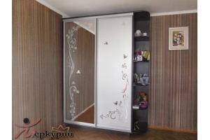 Шкаф-купе с зеркалом 2 - Мебельная фабрика «Меркурий»
